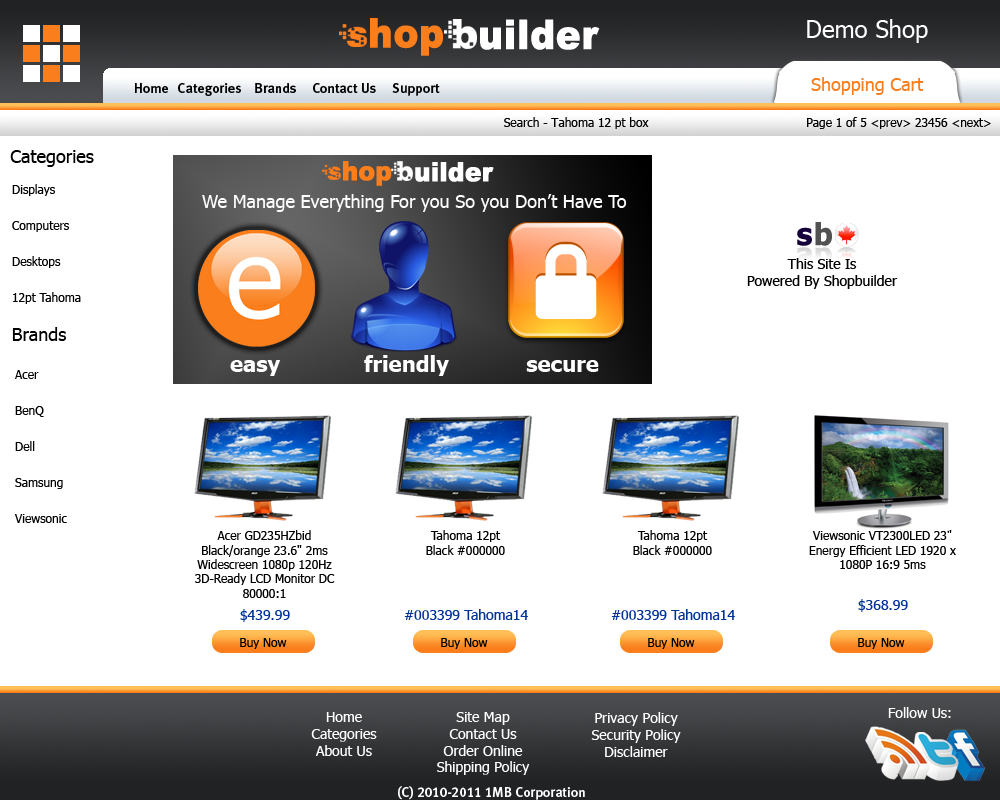 demo.Shopbuilder.ca